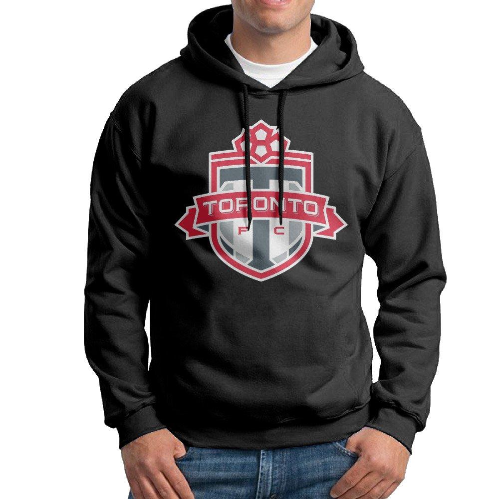 SARAH Men's Mls Toronto Fc Logo Hoodie L Black Sarahday