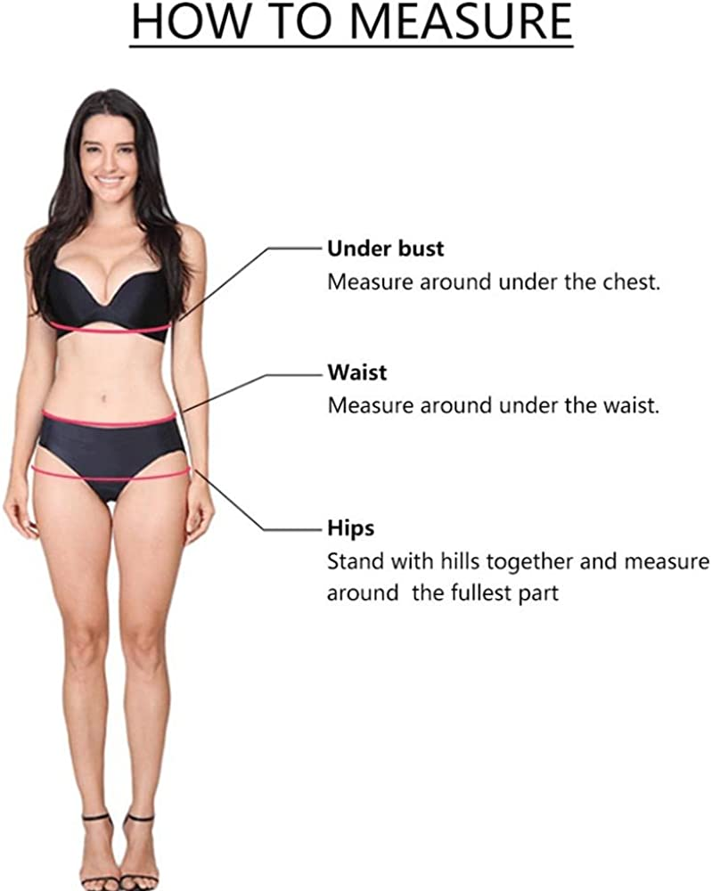 ZoilmxmenSwimsuit Women Bathing Suits,Women Padded Flare Dress Pleated Beach Suit Solid Tankini Swimwear Plus Size