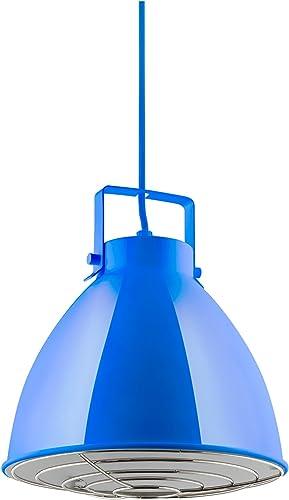 Sunlite CF/PD/Z/B Blue Zed Residential Ceiling Pendant Light Fixture