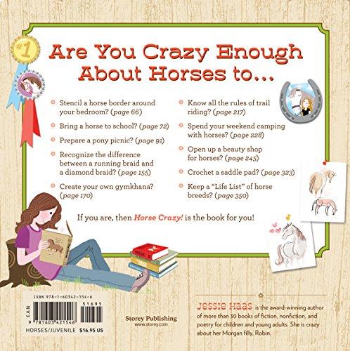 Horse Crazy!: 1,001 Fun Facts, Craft Projects, Games, Activities ...
