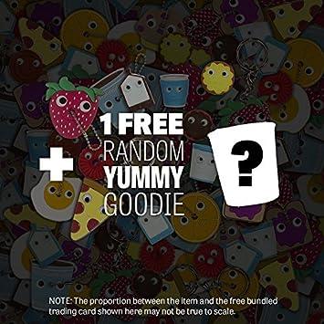 1 Free Official Mini-Item Goodie Bundle ~4 World Small Plush Series #3 Yummy Kiwi