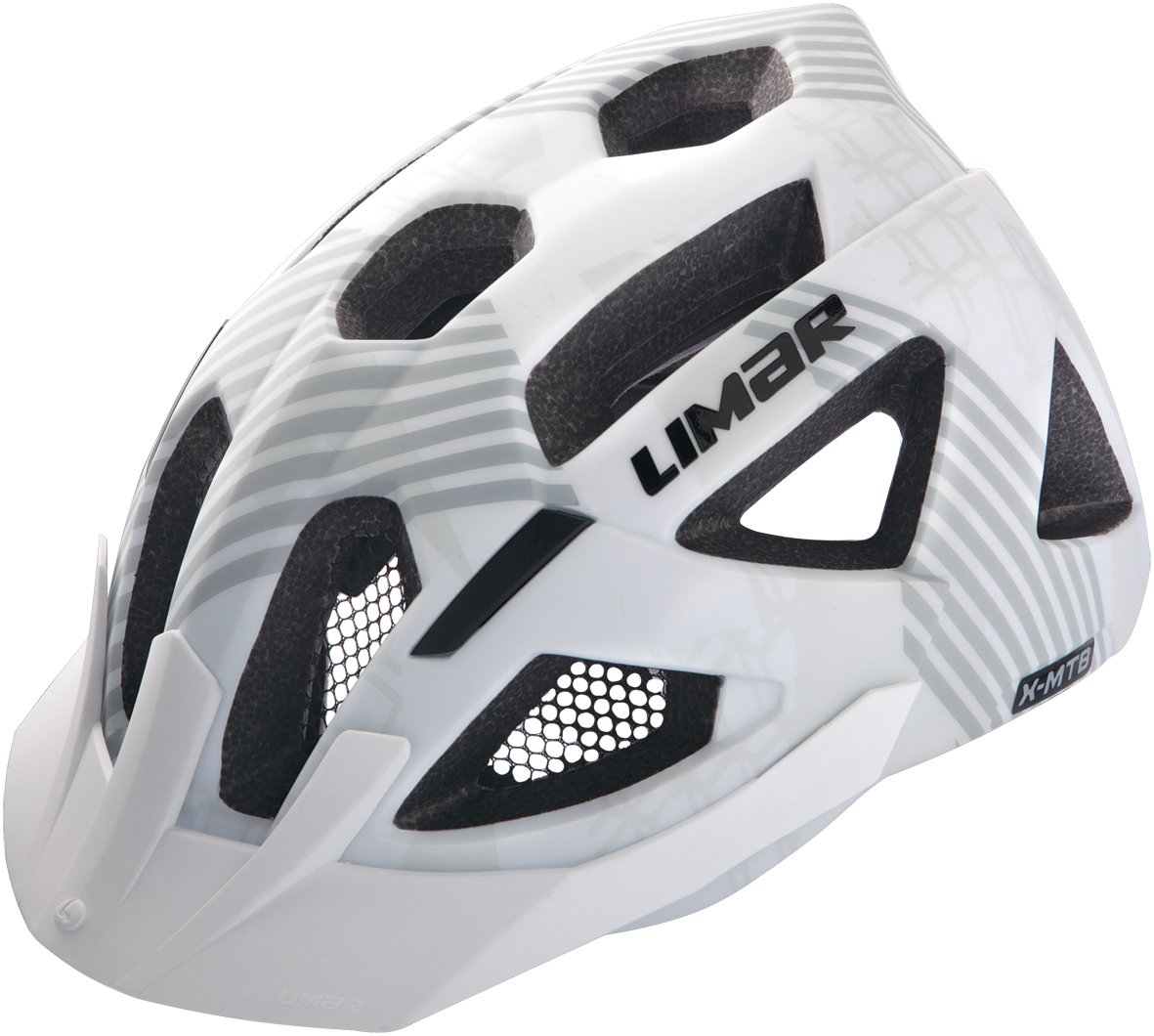 Limar Casque de vélo X-MTB Blanc blanc mat m   B00AFEO430
