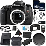 6Ave Canon EOS Rebel T6s DSLR Camera (Body Only) (0020C001) Value Bundle- International Version (No Warranty)
