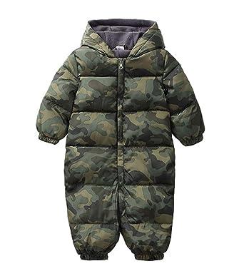 4e66aac8e9da Amazon.com  TAIYCYXGAN Unisex Baby Boys Girls Puffer Hooded Jacket ...