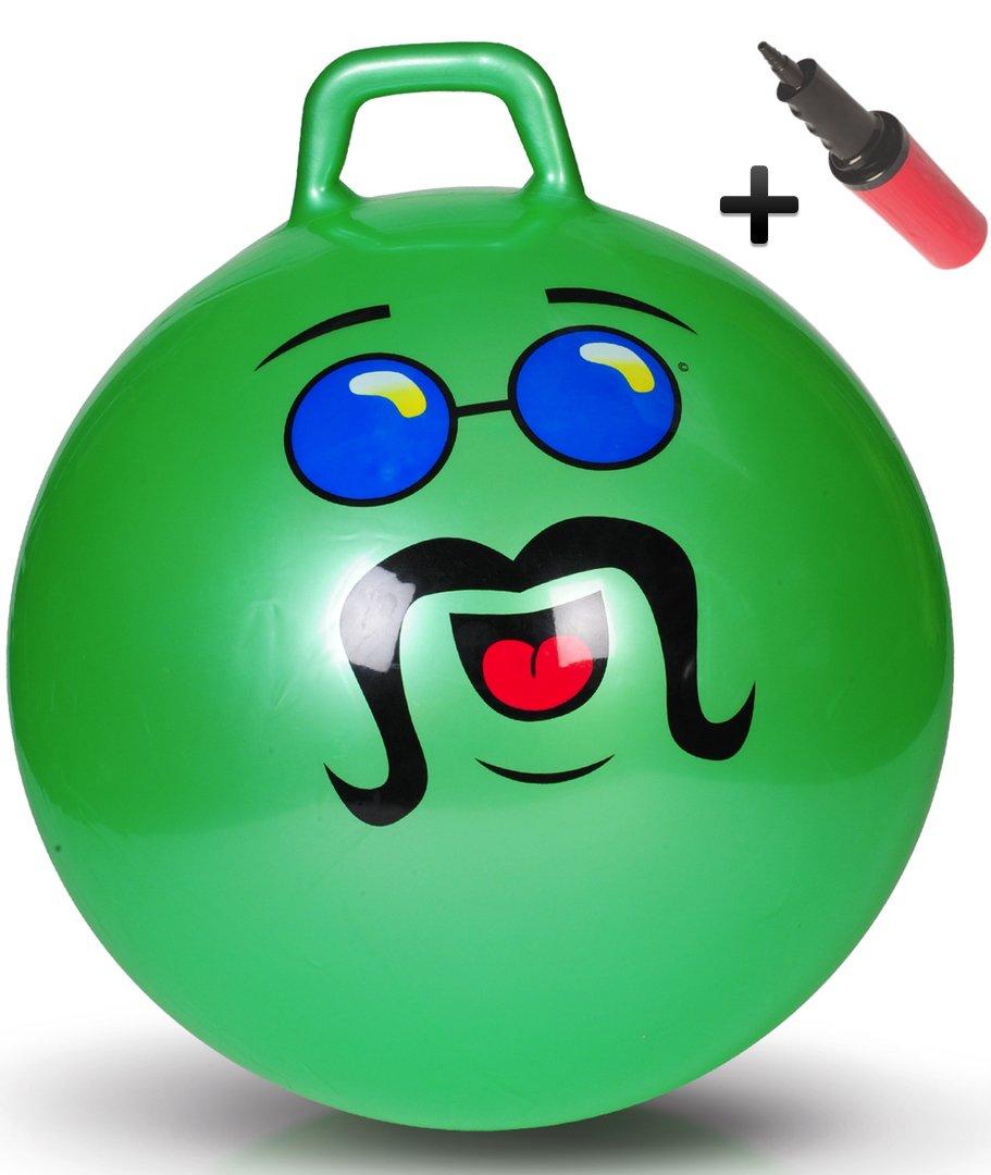 WALIKI Adult Size Hopper Ball | Jumping Ball | Hopping Ball | Bouncing Ball with Handles | Green 29'' by WALIKI