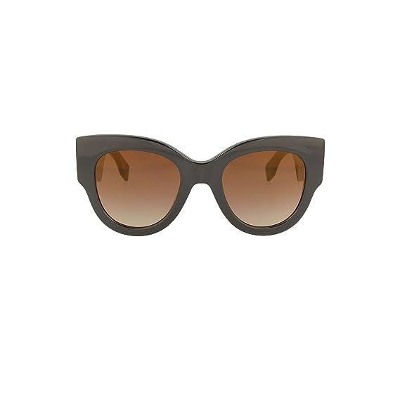 Signature Cube Clubmaster Cateye Sunglasses in Dark Havana FF 0229/S 086 55 Fendi XN2Bg