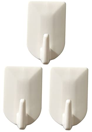 Badezimmer Tür Haken, Familie Wand Aufhänger, Hüte Tasche Schlüssel  Selbstklebend Kunststoff Haken 3 Hooks