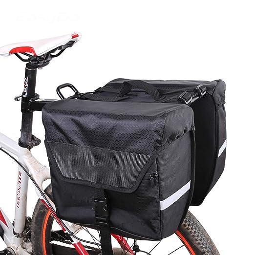 Bolsa de cuadro de bicicleta Alforja para maletero de bicicleta ...
