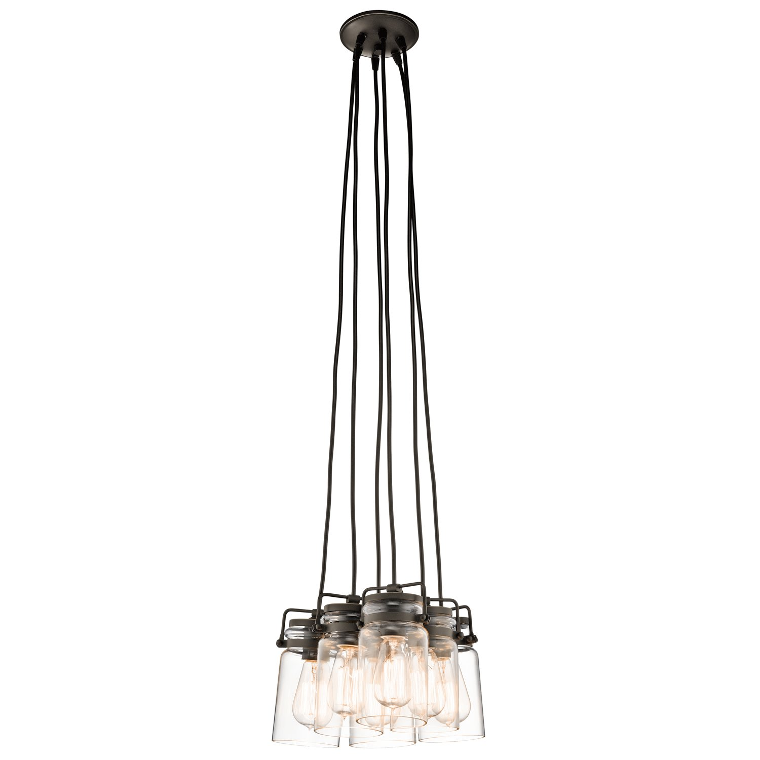 Kichler 42877OZ Six Light Pendant