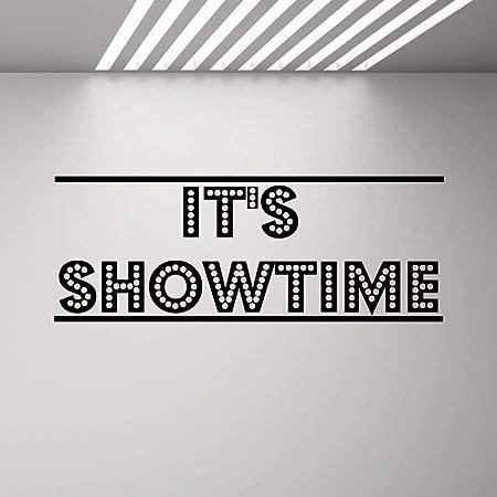 DLYD 108x42cm diseño de Cine Etiqueta de la Pared Showtime ...