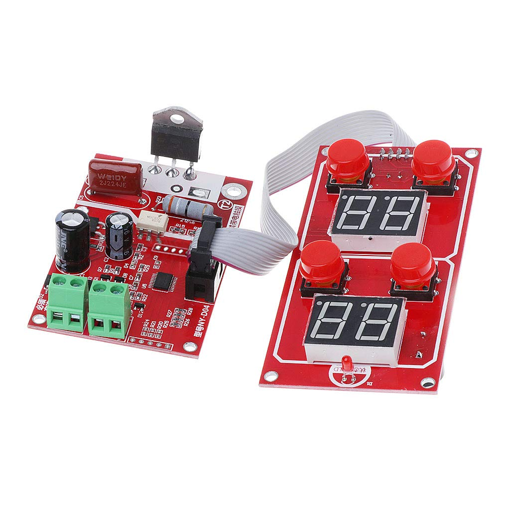 100A Digitalanzeige Punktschwei/ßger/ät Controller Time Panel Board BIlinli NY-D04 40A