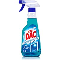 DAC Glass and Window Cleaner Trigger Spray - Spotless Shining (400 ml) For Glass, Windows, and Other Surfaces for…