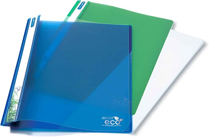 Rapesco 1099 Report File - ECO, A4+ (Assorted Colours, Pack of 10): Amazon.co.uk: Office Products