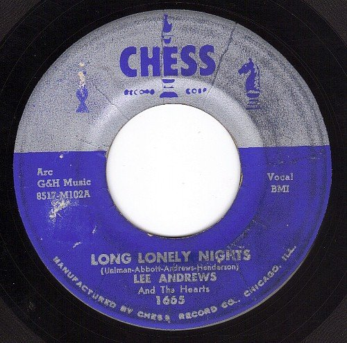 Price comparison product image Long Lonely Nights/The Clock (VG 45 rpm)