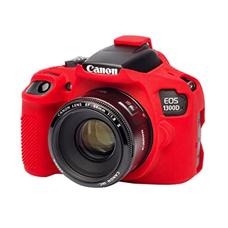 EasyCover Canon 1300D Camera Case  Red