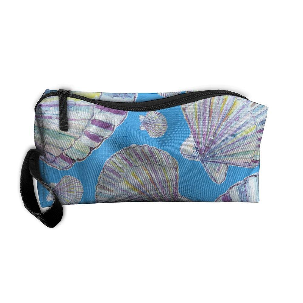37eb99ec33ff delicate DFGGH Mermaid Unisex Cosmetic Bags Makeup Travel Zipper ...