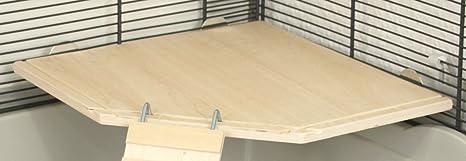 petgard jaula adolescente accesorios pisos Juego de madera | Etage ...