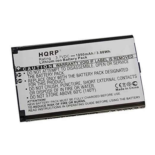 HQRP Battery Works with Wacom Bamboo CTH-470 CTH-670 CTL-470 CTL-471  PTH-450 PTH-650 PTH-451 PTH-850 Intuos 5 Tablet 1UF553450Z-WCM ACK-40403