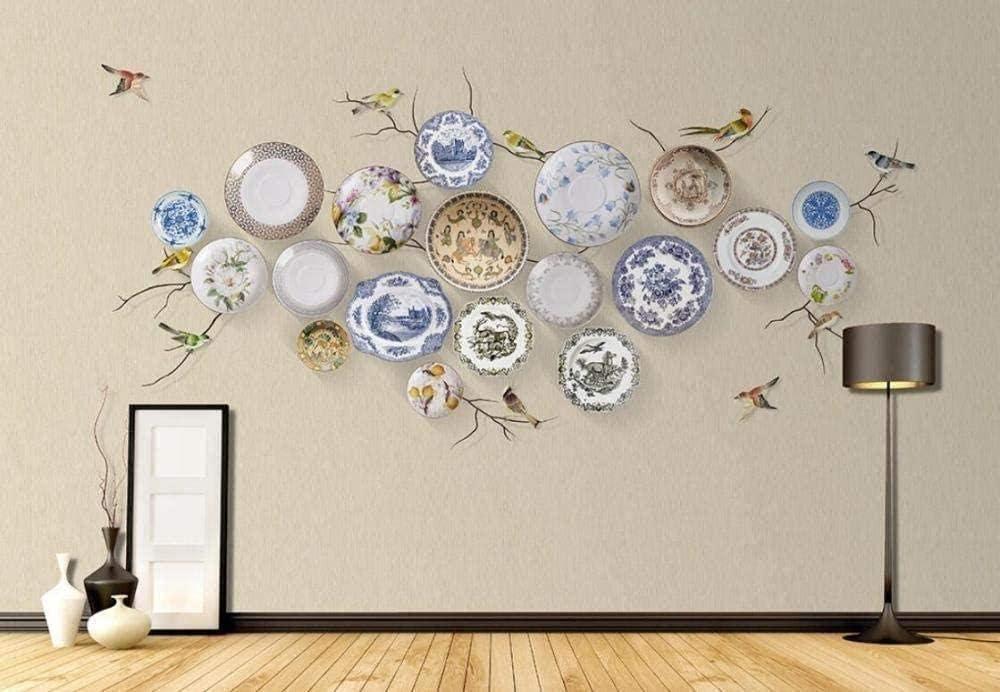 Fotomurales Decorativos Pared Vinilos Decorativos Papel Fotografico 3D Mural De Porcelana China Flores Y Pájaros Mural Papel Pintado Cuadros Habitacion Bebe Posters Mural Pared