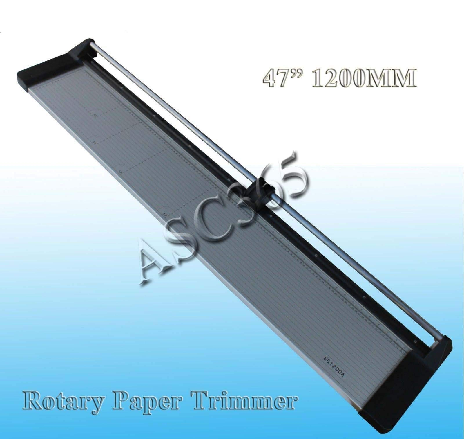 Brand New 48Inch 1200mm Rotary Photo Vinyl Paper Cutter Portable Trimmer +1 Blade by Rotary