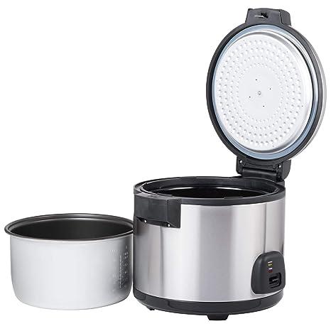 Amazon.com: Avantco RC60 60 - Cocina de arroz eléctrica con ...