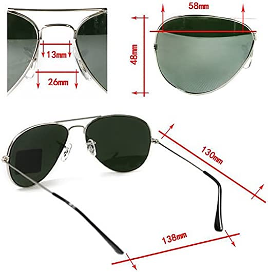 e03a149374 4sold UNISEX MENS WOMENS 70s Designer Style Unisex Silver Mirror Sunglasses  - UV400 Protection - One Size Fits All - Full Mirrored Lenses Christmas  gift ...