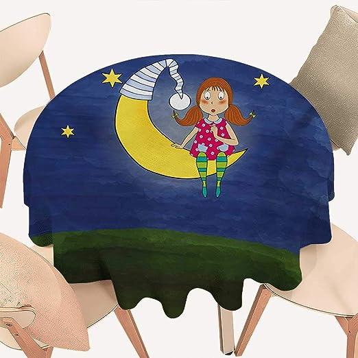 Angoueleven - Mantel de Jacquard para niños y niñas, Leyendo bajo ...