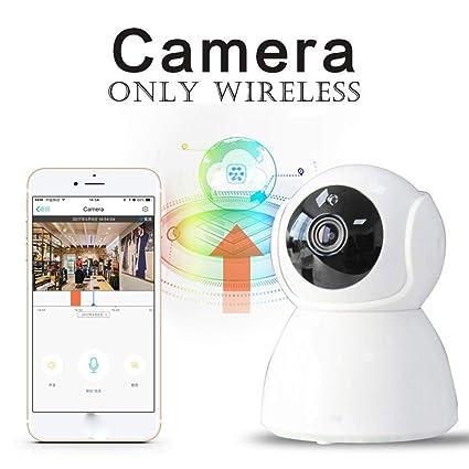 YENJOS Vigilancia Cámara IP, Cámara IP inalámbrica HD 720P, Lente IR de 3.6 mm