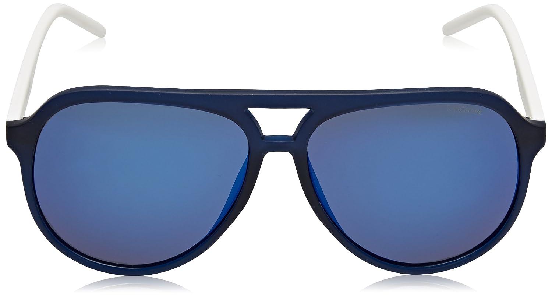 Polaroid Herren Sonnenbrille Pld 2048/S 5X Rct, Blau (Matt Blue/Grey Grey Speckled Blue Pz), 59
