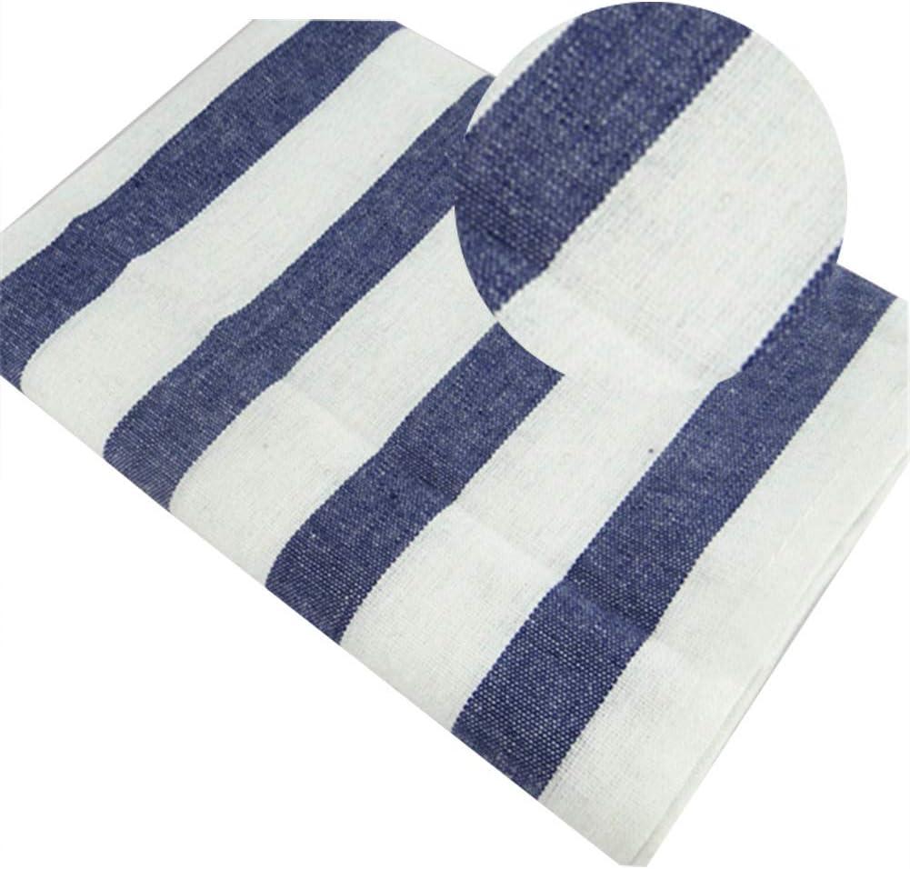 a MoGist Mediterranean Blue Series Plaid Striped Tea Towel Napkin Gourmet Background Cloth Table Cloth 40cm*60cm