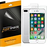 Supershieldz for Apple iPhone 8 Plus / iPhone 7 Plus [Front + Back] Full Body Screen Protector, [3 Front and 3 back] Anti-Bubble High Definition Clear Screen Shield -Lifetime Replacements Warranty