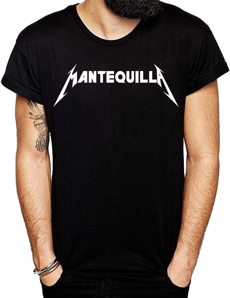 Camiseta Humor Mantequilla Metallica (s): Amazon.es: Ropa y accesorios