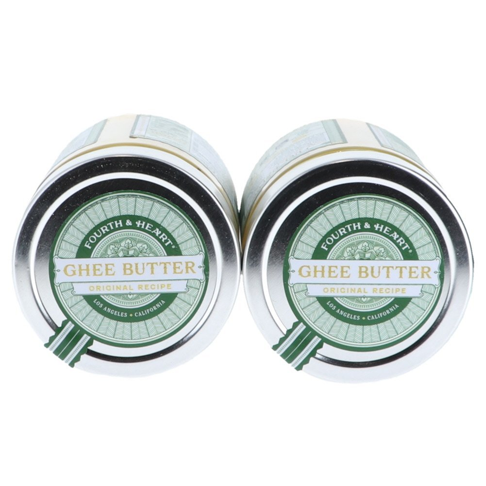 4th & Heart Original Salt Grass-Fed Ghee Butter, 9 Ounce Bundle (2 pack) by Fusion Apparel (Image #4)