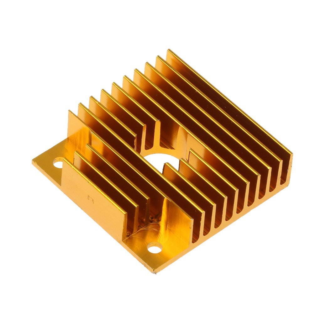 Heat Sink Makerbot MK7//MK8 40x40x11mm WINGONEER 3D Printer Accessories 5pcs Aluminum Profile Heatsink