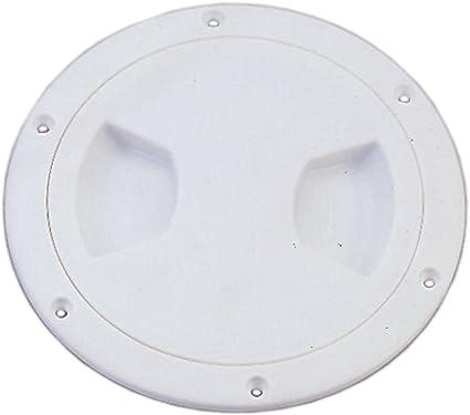 blanco redondo para barco marino RV Seaflo 6/pulgadas Acceso para escotillas
