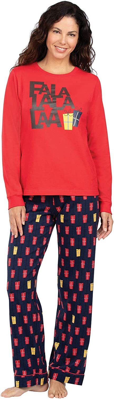 PajamaGram Christmas Pajamas for Women - Christmas PJs Women, Novelty Prints
