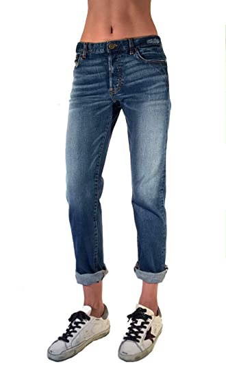 Boyfriend Jeans Made In The Usa Women S Selvedge Denim At Amazon