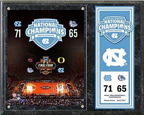 brand new 56c0b 9436d UNC North Carolina Tar Heels 2017 NCAA Basketball Championship Photo Plaque  (Size  12