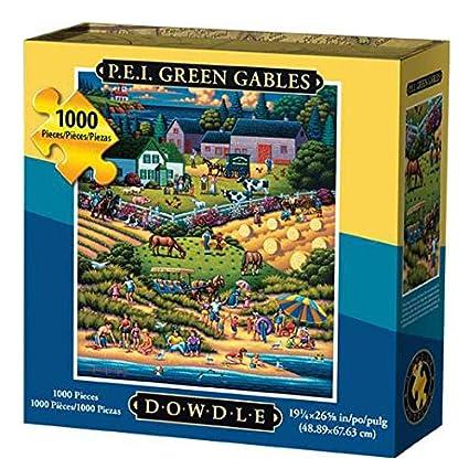 Dowdle Folk Art Prince Edward Island Jigsaw Puzzle (1000 Piece)