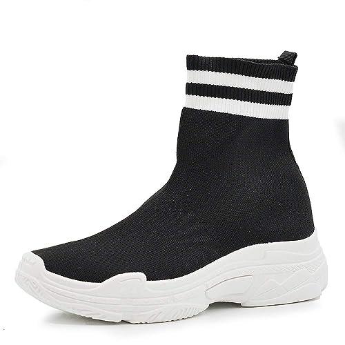 Scarpe Ginnastica Sport Stivaletti Elasticizzati Respirare Sneakers   Amazon.it  Scarpe e borse e0c17922ee0