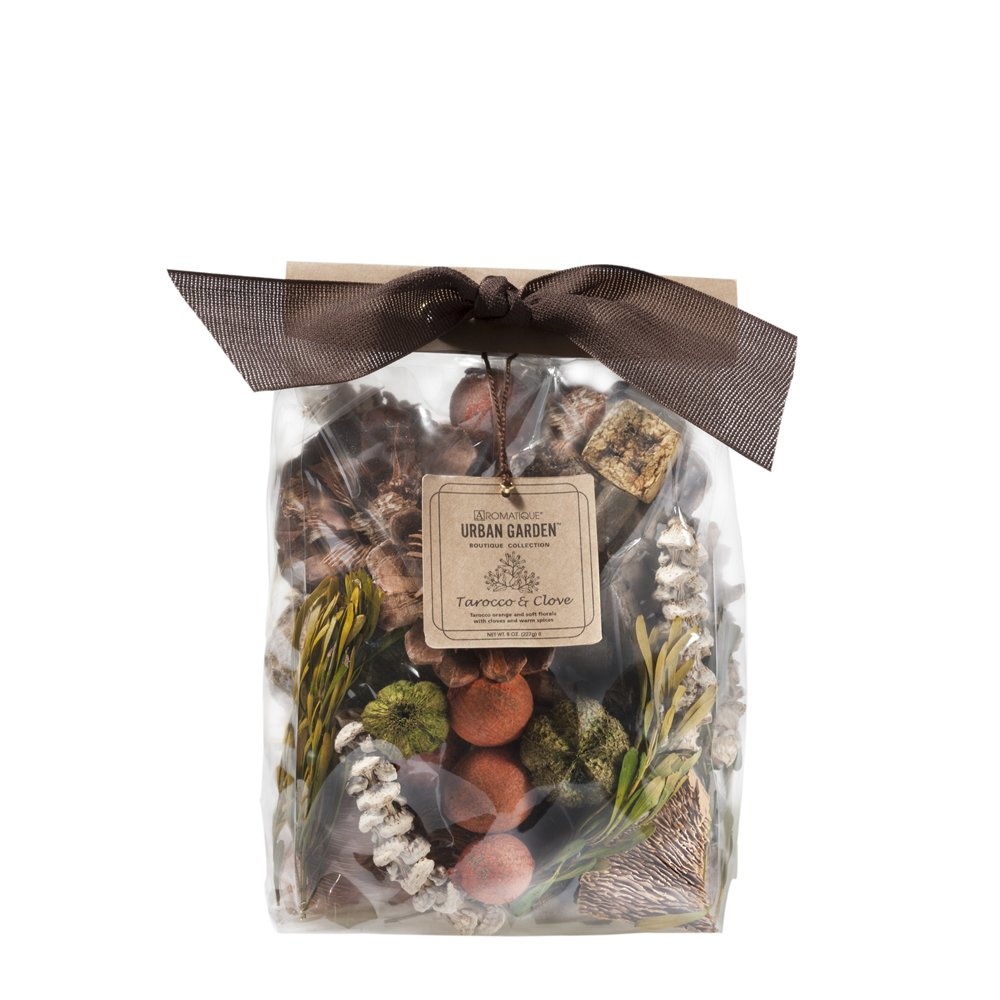 Aromatique Decorative Potpourri Bag- Tarocco & Clove (8oz Pocketbook) by Aromatique