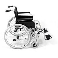 bescomedical Rollstuhl Primus MS 2.0, Faltbar, Steckachsensystem, Sitzbreite 43 cm