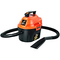 $53 » Armor All, AA255 , 2.5 Gallon 2 Peak HP Wet/Dry Utility Shop Vacuum
