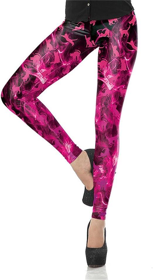 Verano Otoño Legging 3D Legins Impreso Moda Mujer Leggings Gatos Leggins Tie Dye Mujer Pantalones: Amazon.es: Ropa y accesorios