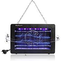 DigHealth - Lampe Anti Moustique Electrique Interieur, UV LED Tue Mouches 7W, Piege Insectes de Ventilateur d'aspiration, Câble d'alimentation 150cm, Non Toxique pour Maison Bureau