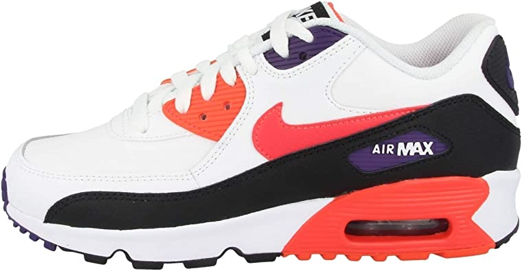 NIKE Air MAX 90 LTR (GS), Zapatillas de Running para Niños: Amazon.es: Zapatos y complementos