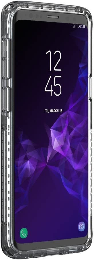 Griffin Drop Protected Samsung Galaxy S9 Case Clear Survivor Strong Qi Charge Compatible Slim Cover