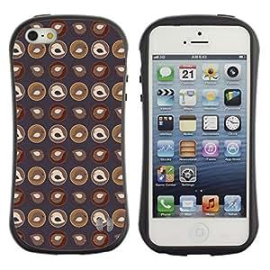 DesignCase Premium TPU / ABS Hybrid Back Case Cover Apple iPhone 5C ( cute chick )