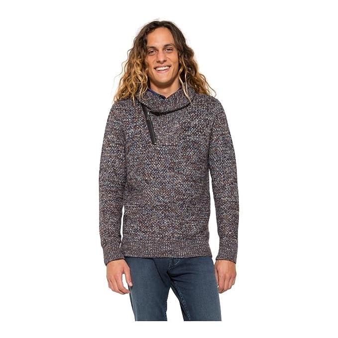 Desigual - Sudadera con capucha - para hombre marrón moca: Amazon.es: Ropa y accesorios