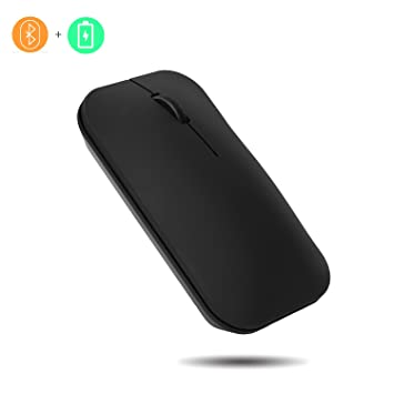 Jelly peine batería Bluetooth ratón, menos ruido, Bluetooth 3.0 Ratón para Tablet, ordenador